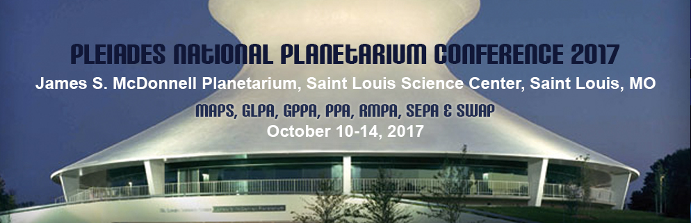 Pleiades National Planetarium Conference 2017